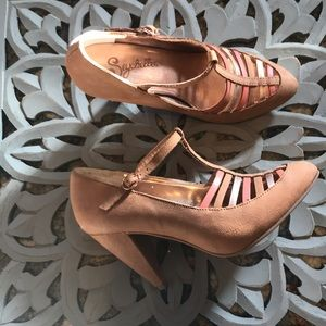 Hayley Multi-Strap Heels from Seychelles